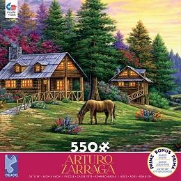 Arturo Zarraga: Rock of Wolves Puzzle - 550 Pieces