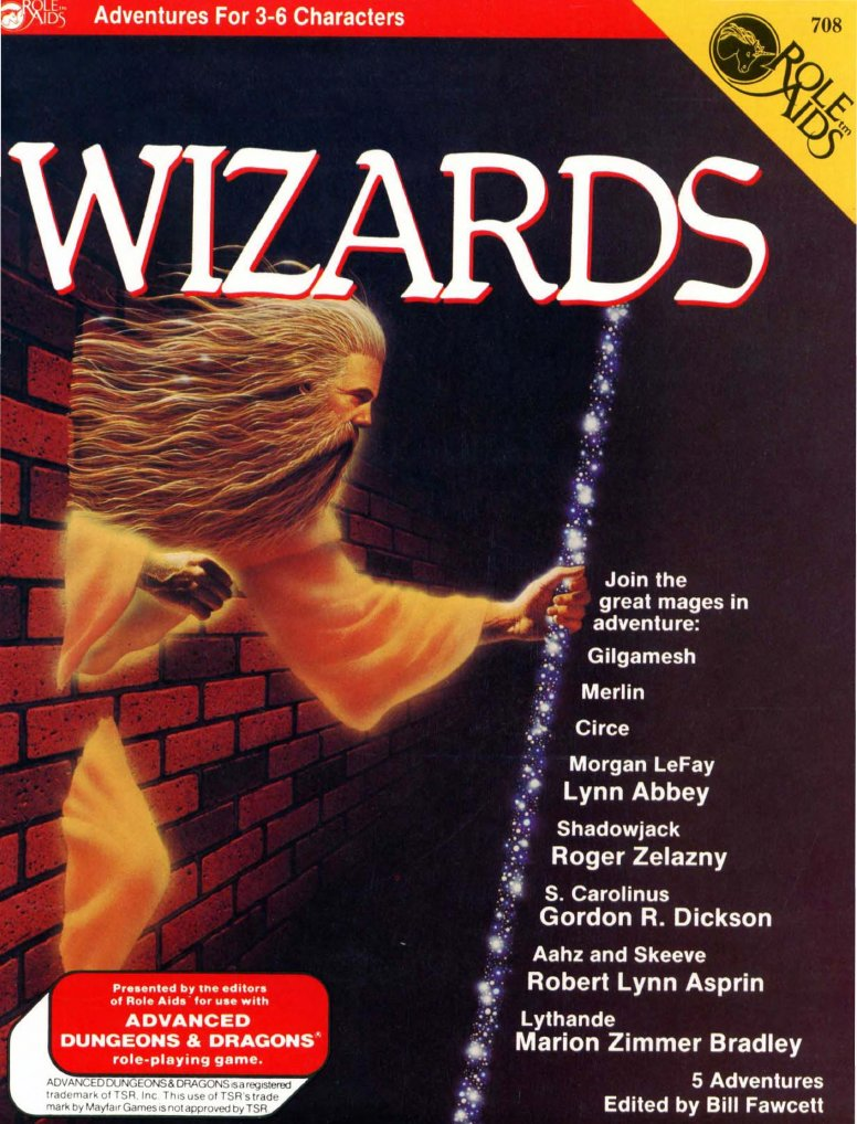 Role Aids: Wizards - Used