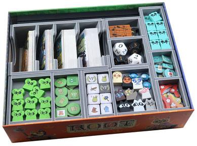 Folded Space: Box Insert: Root, Riverfolk, Underworld, Vagabond, Resin Markers