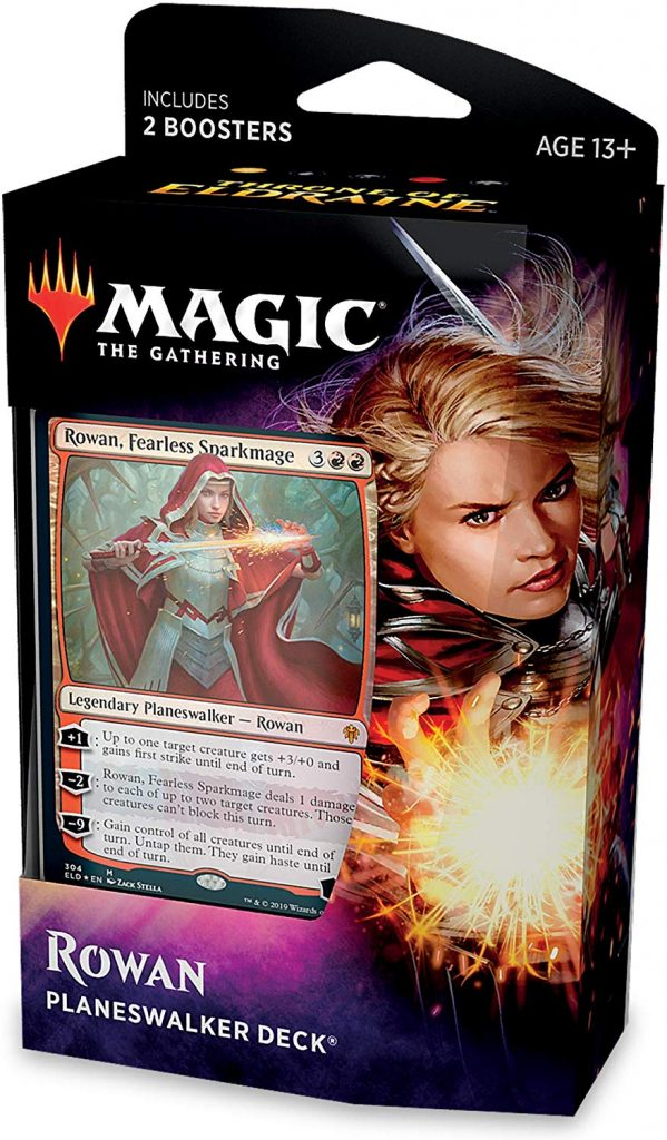 Magic The Gathering: Throne of Eldraine: Plansewalker Deck - Rowan