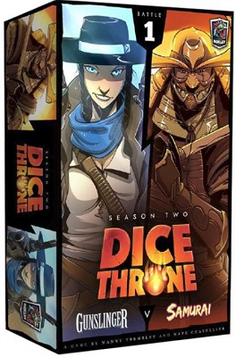 Dice Throne: Season 2: Gunslinger vs Samurai Box