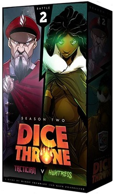 Dice Throne: Season 2: Tactician vs Huntress Box
