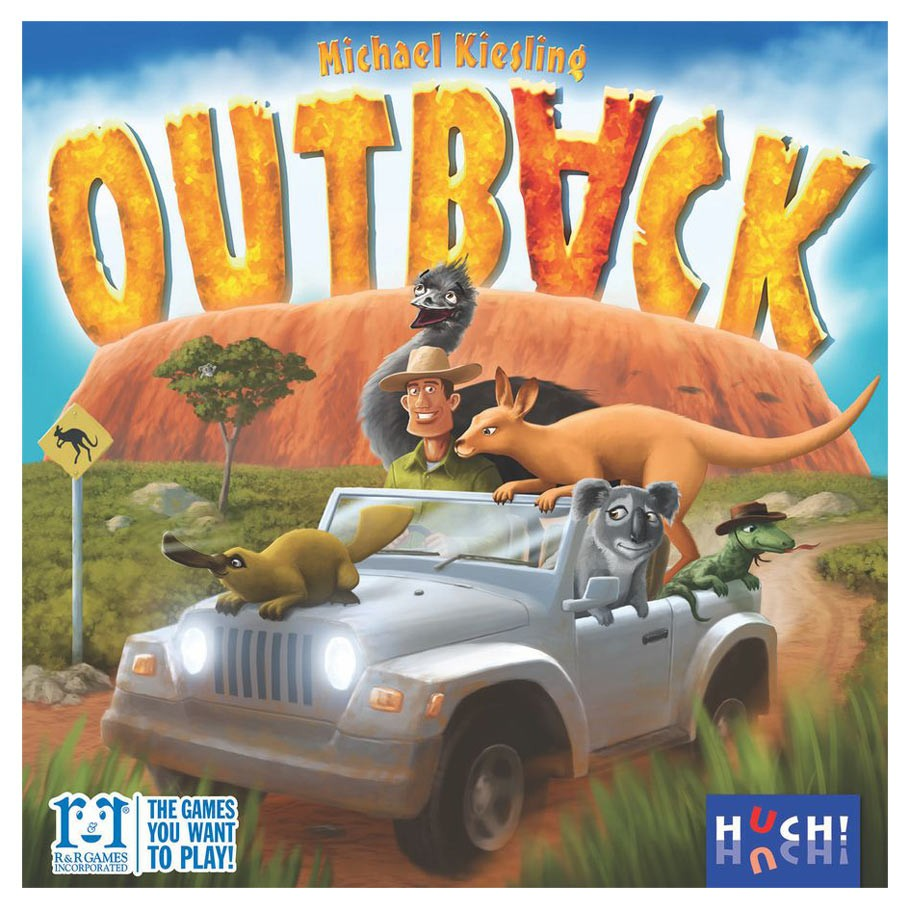 Outback Board Game