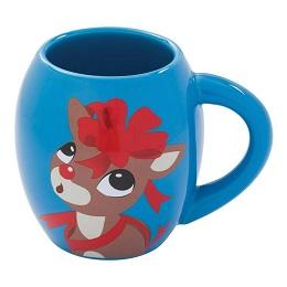 Rudolph 18 oz. Oval Ceramic Mug