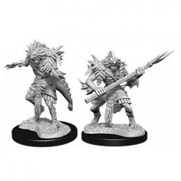 Dungeons and Dragons: Nolzur's Marvelous Unpainted Miniatures Wave 12: Sahuagin