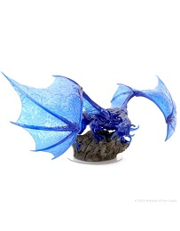 Dungeons and Dragons: Icons of the Realms: Sapphire Dragon Premium Figure