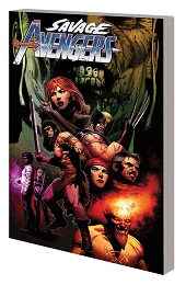 Savage Avengers Volume 3: Enter the Dragon TP