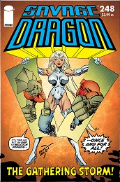 Savage Dragon no. 248 (1993 Series) (MR)