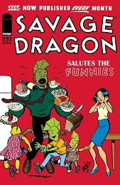 Savage Dragon no. 252 (1993 Series) (MR)