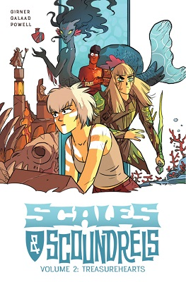 Scales and Scoundrels: Volume 2: Treasure Hearts TP