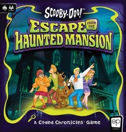 Scooby Doo: Escape the Haunted Mansion Board Game