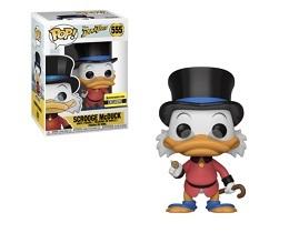 Funko POP: Duck Tales: Scrooge McDuck Red Shirt - Used
