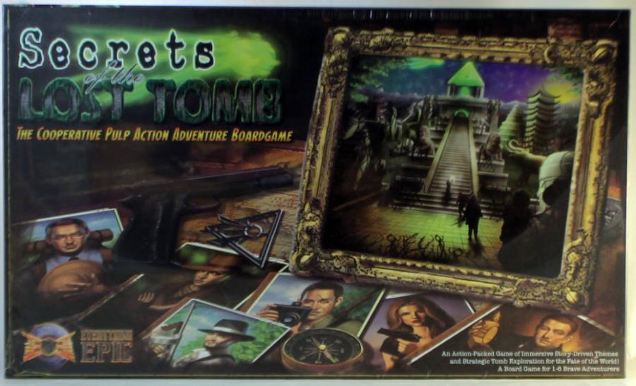 Secrets of the Lost Tomb Board Game 1st Edition
