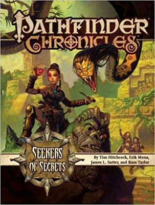 Pathfinder Chronicles Seekers of Secrets - Used