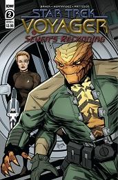 Star Trek Voyager: Seven's Reckoning no. 2 (2020 Series)