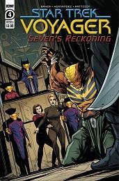 Star Trek Voyager: Seven's Reckoning no. 4 (2020 Series)
