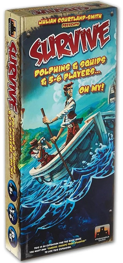 Survive: Escape from Atlantis: Dolphins and Squids and 5-6 Players Expansion