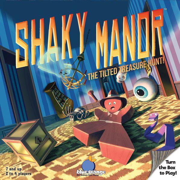 Shaky Manor Board Game