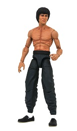 Shirtless Bruce Lee Action Figure