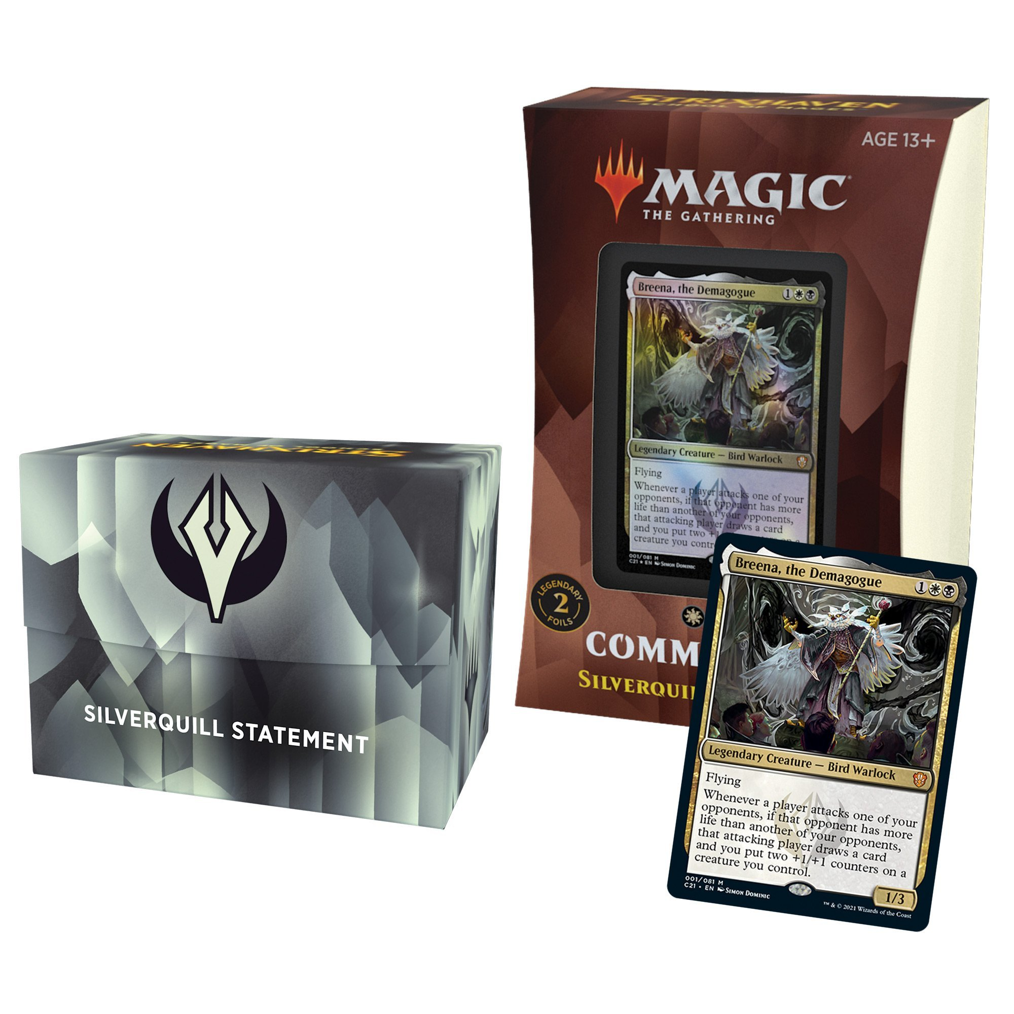 Magic the Gathering: Commander 2021: Silverquill Statement
