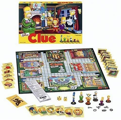 Clue: The Simpsons - USED - By Seller No: 829 Joe Piva
