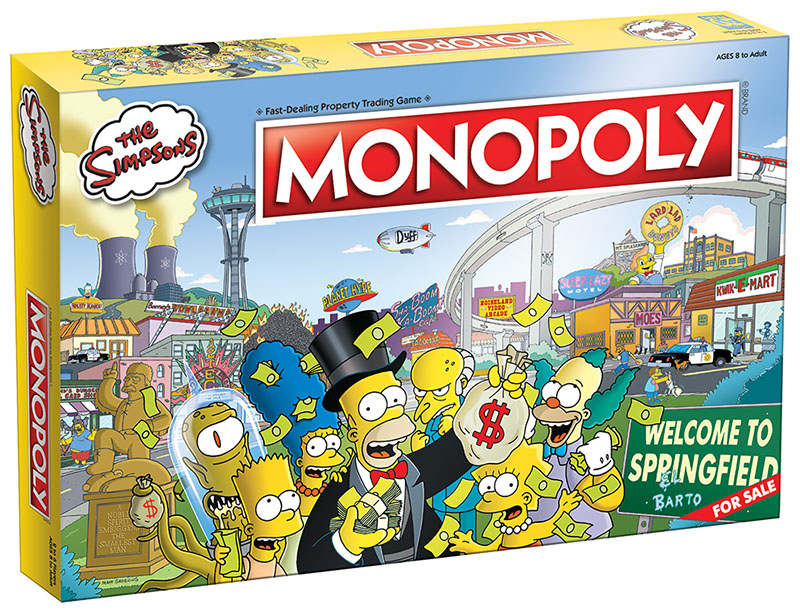 Monopoly: The Simpsons Board Game