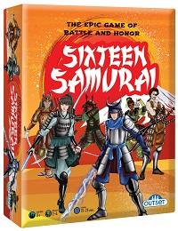 Sixteen Samurai Board Game