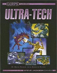 Gurps 4th Ed: Ultra-Tech HC - USED