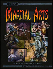 Gurps 4th Ed: Martial Arts HC - USED
