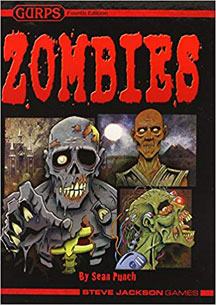 Gurps 4th Ed: Zombies HC - USED