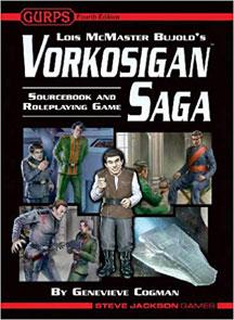 Gurps 4th Ed: Vorkosigan Saga HC - USED