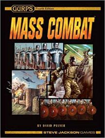 Gurps 4th Ed: Mass Combat - USED