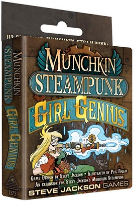 Munchkin Steampunk: Girl Genius Expansion