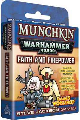 Munchkin Warhammer 40k: Faith and Firepower Expansion