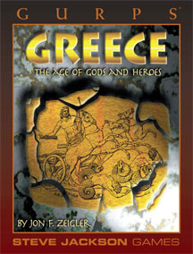 Gurps 3rd Ed: Greece the Age of Gods and Heroes - USED