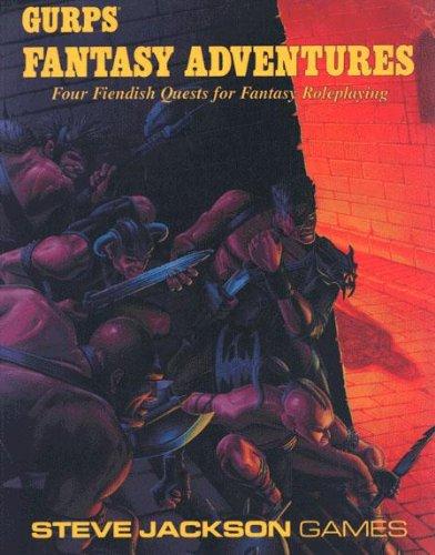 Gurps 2nd ed: Fantasy Adventures - Used