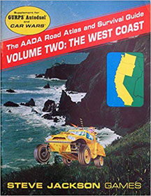 The AADA Road Atlas and Survival Guide: Volume two: the West Coast - USED