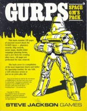 Gurps 3rd ed: Space GM's Pack - Used