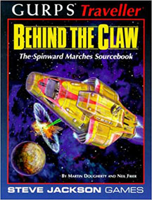 Gurps: Traveller: Behind the Claw - USED