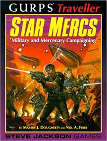 Gurps: Traveller: Star Mercs - USED