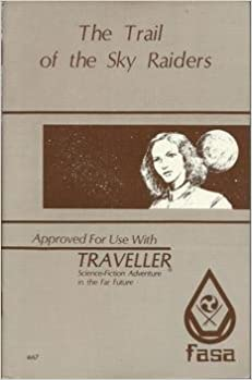 Traveller: The Trail of the Sky Raiders - Used