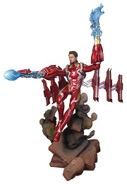 Marvel Gallery: Unmasked Iron Man MK50 Deluxe PVC Figure