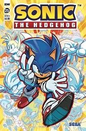 Sonic the Hedgehog no. 25 (2018 Series)