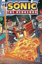 Sonic the Hedgehog no. 32 (2018 Series)