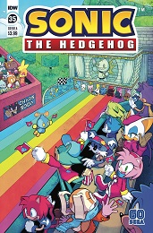 Sonic the Hedgehog no. 35 (2018 Series)