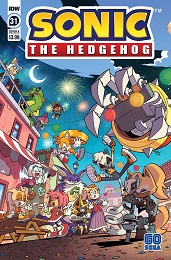 Sonic the Hedgehog no. 31 (2018 Series)