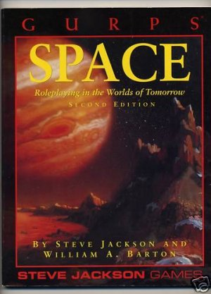 GURPS 2nd Ed: Space: Roleplaying in the Worlds of Tomorrow - Used