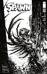 Spawn no. 316 (1992 Series) (Black and White Variant)