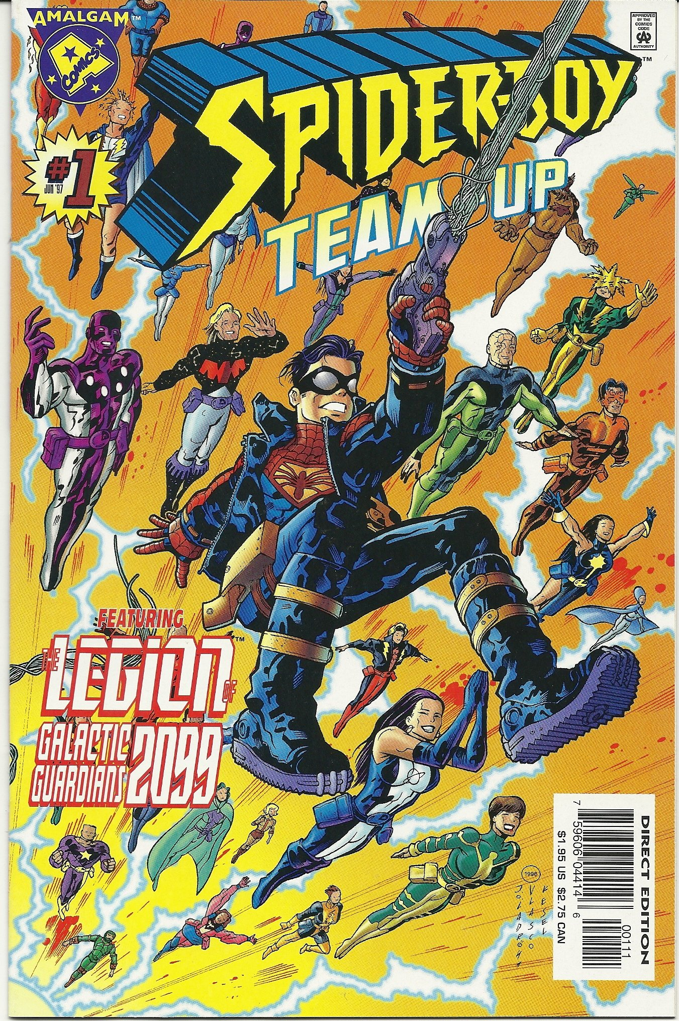 Spider-Boy  Team -Up (1996) no. 1 One Shot - Used