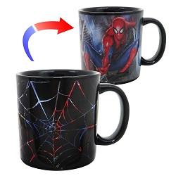 Marvel Spider-Man 20 oz. Heat Reactive Ceramic Mug
